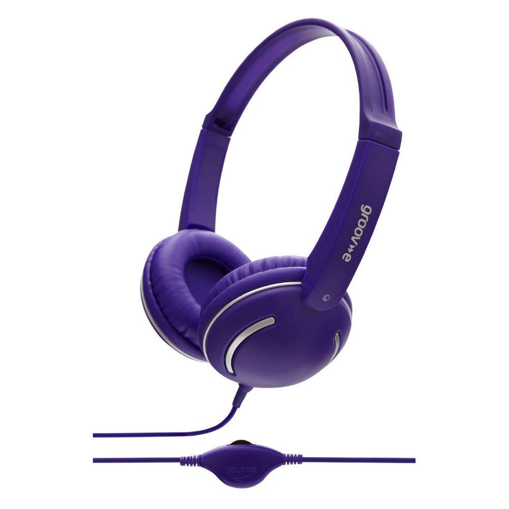 Groov-e Streetz | Headphones Purple | GV897VT